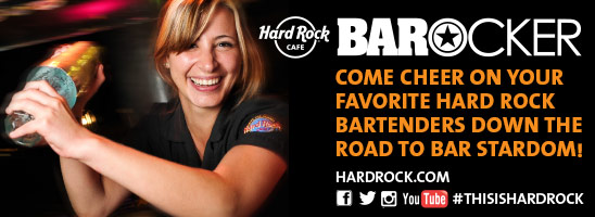 Hard Rock Διαγωνισμό BARocker