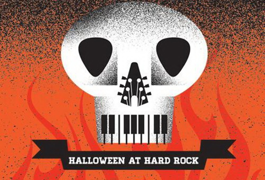 Halloween party_Hard Rock Cafe