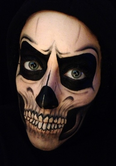 halloween μακιγιάζ