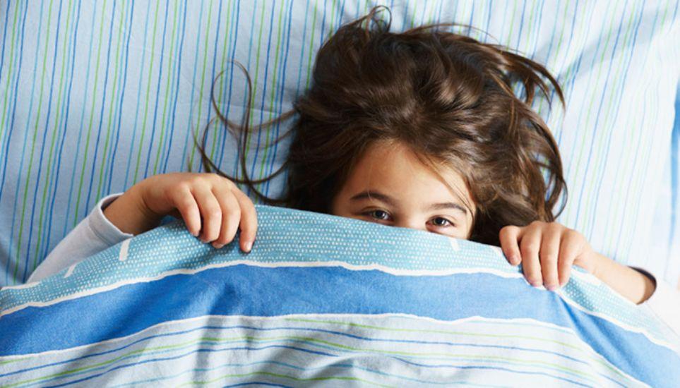 νυχτερινή ενούρηση παιδιού