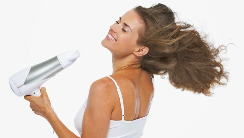 γρήγορο στέγνωμα μαλλιών
