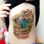 τατουάζ με θέμα βιβλία