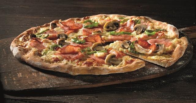 χωριάτικη πίτσα