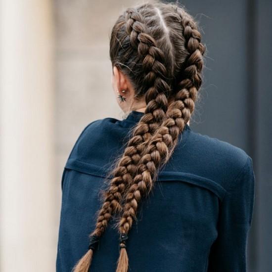 εύκολο hairstyle