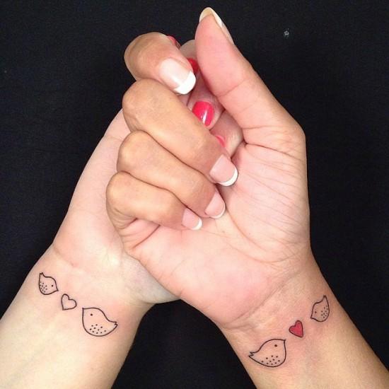 τατουάζ μητέρα-κόρη