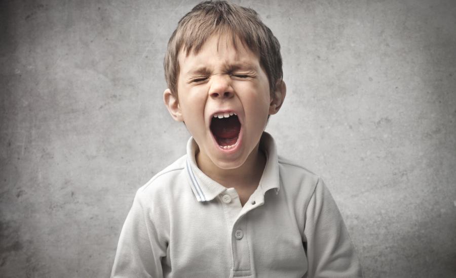 αντιμετώπιση θυμού στο παιδί