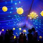 φωτισμός γαμήλιο πάρτι