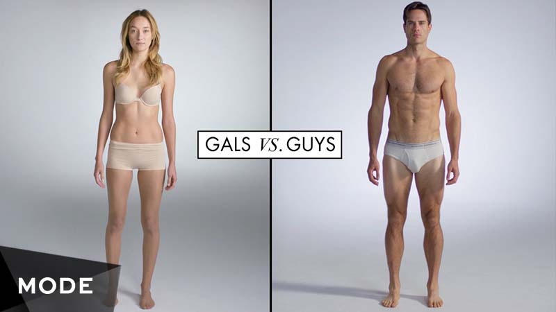 100 Years of Fashion- Gals vs. Guys