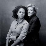 Agnes Gund and Sadie Rain-Hope Gund