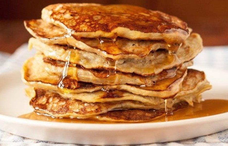 pancakes μπανάνας
