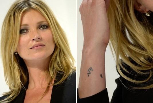τα τατουάζ των μοντέλων