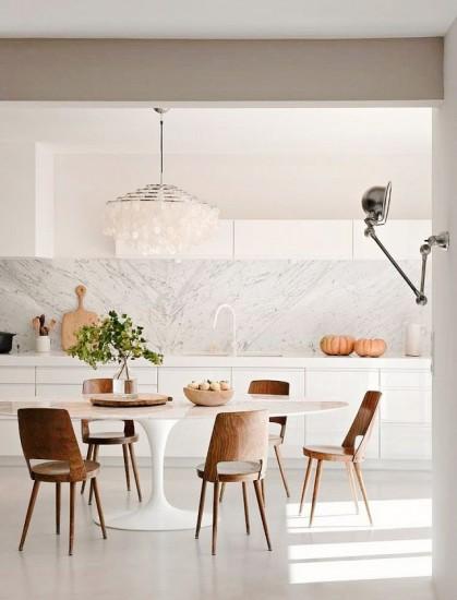 deco λευκή κουζίνα