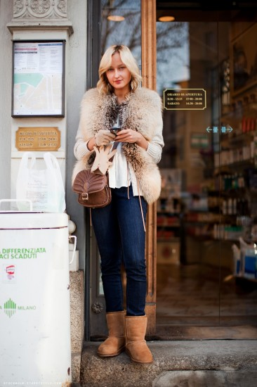look με Ugg boots