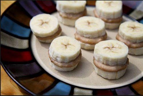 Εικόνα 4 Μπανάνα με φυστικοβούτυρο