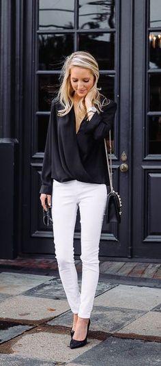 λευκό παντελόνι 1