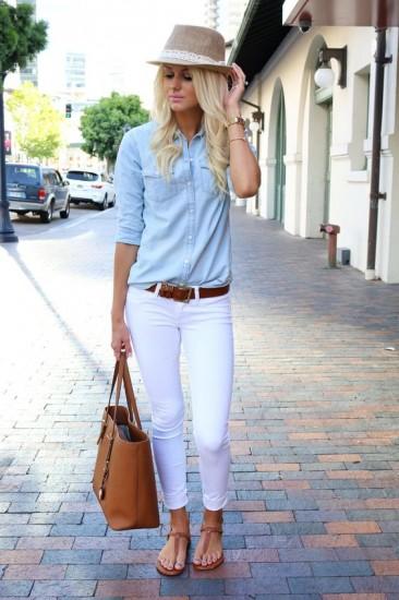 λευκό παντελόνι3