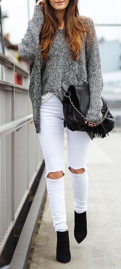 λευκό παντελόνι4