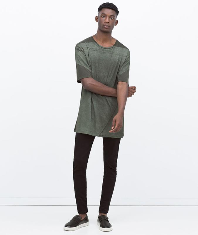 μακριά μπλούζα