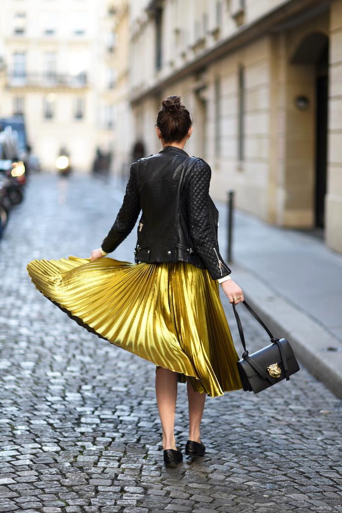 μεταλλική φούστα1