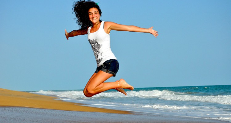 Health-woman-jumping