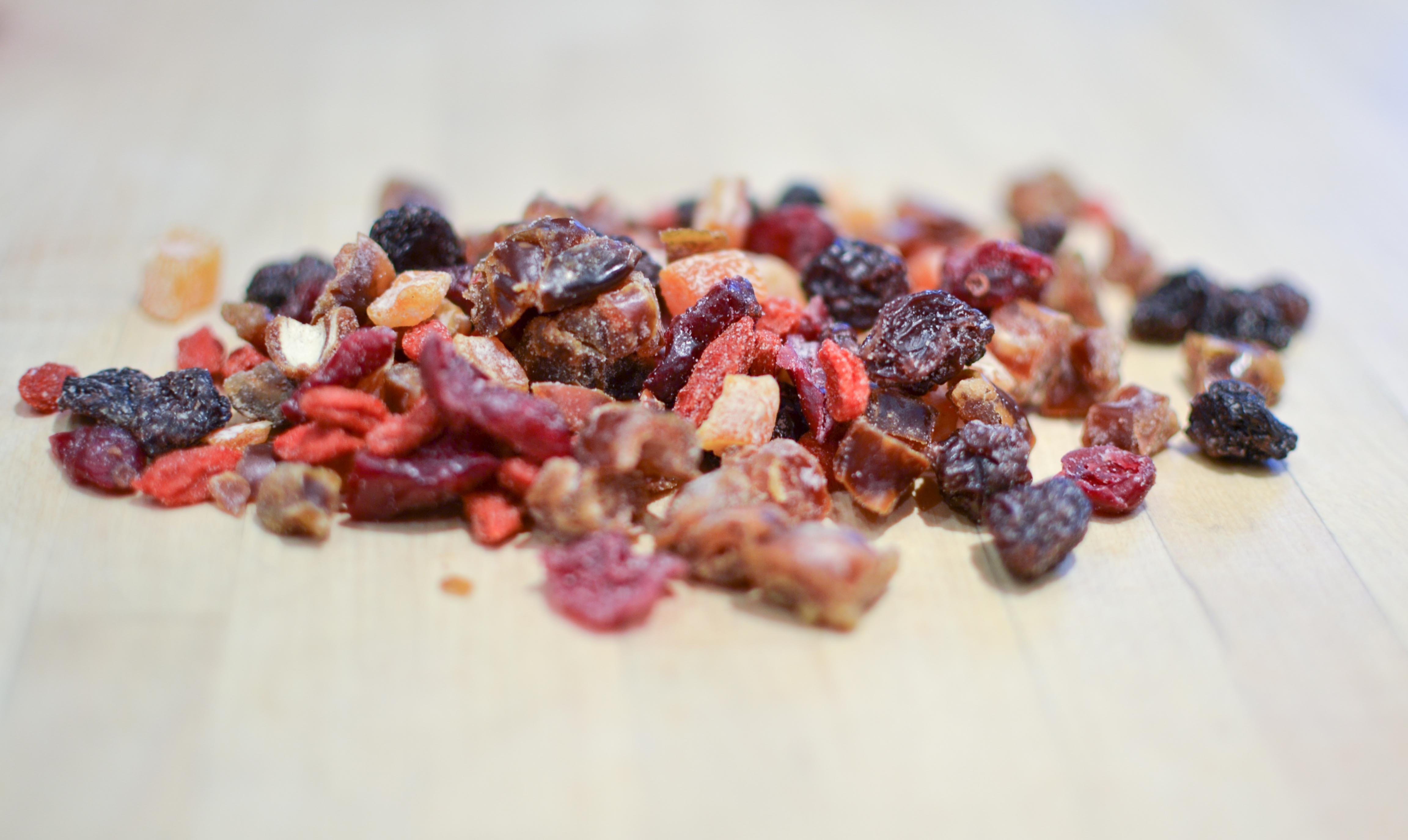 διατροφική αξία αποξηραμένα φρούτα