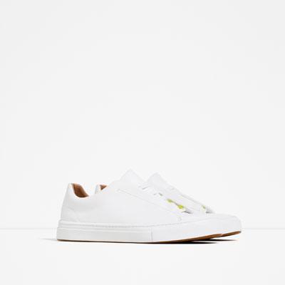 sneakers ζάρα