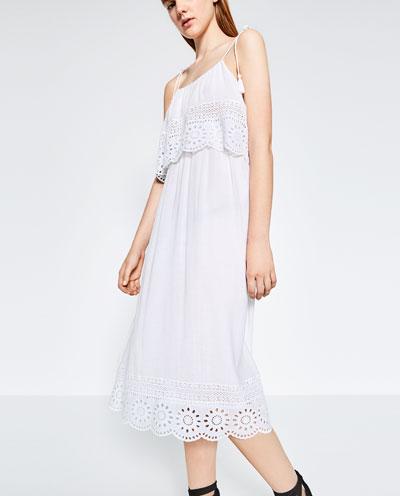 7 λευκά φορέματα για όλες τις ώρες της ημέρας!  8c1aef8c9ab