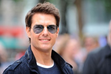"""LONDON, ENGLAND - JUNE 10:  Tom Cruise attends the European premiere of """"Rock Of Ages"""" at Odeon Leicester Square on June 10, 2012 in London, England.  (Photo by Stuart Wilson/Getty Images)"""