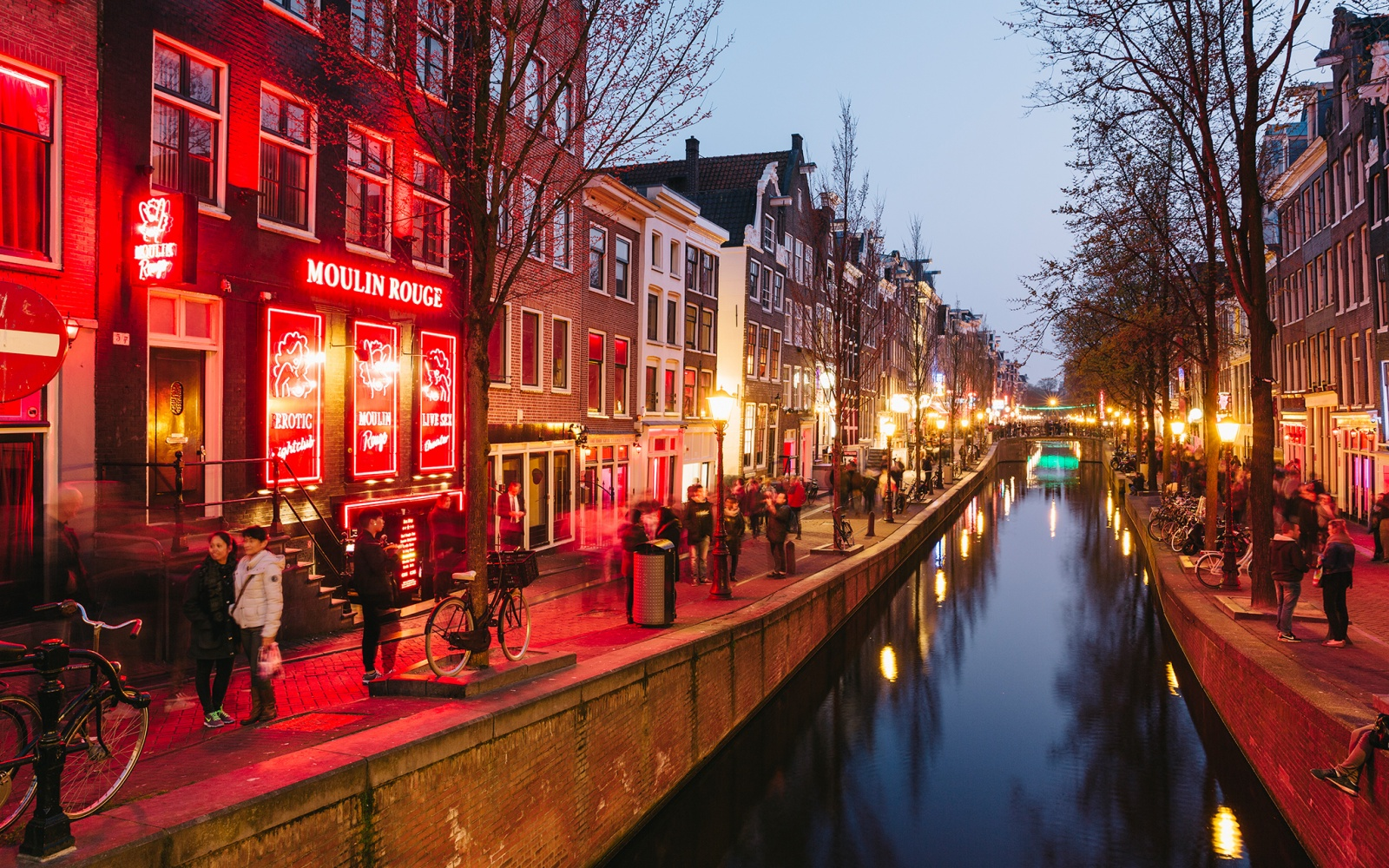 aMSTERAM rED lIGHTS