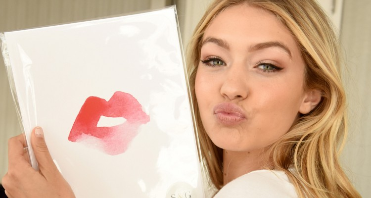 WEST HOLLYWOOD, CA - JANUARY 09:  Model Gigi Hadid attends Kari Feinstein's Pre-Golden Globes Style Lounge at the Andaz West Hollywood on January 9, 2015 in West Hollywood, California.  (Photo by Vivien Killilea/WireImage)
