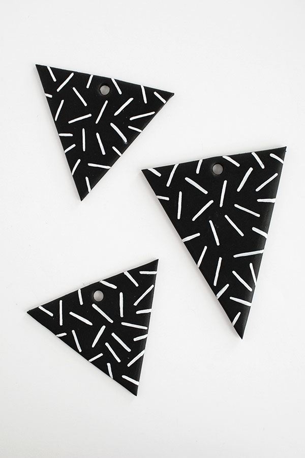 patterned-clay-triangles1