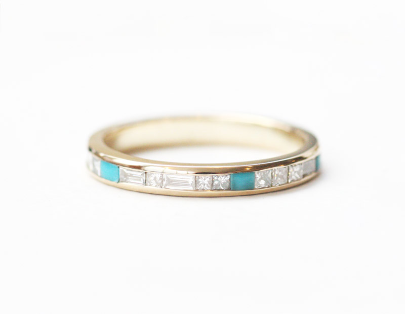 turquoise-and-diamond-eternity-band