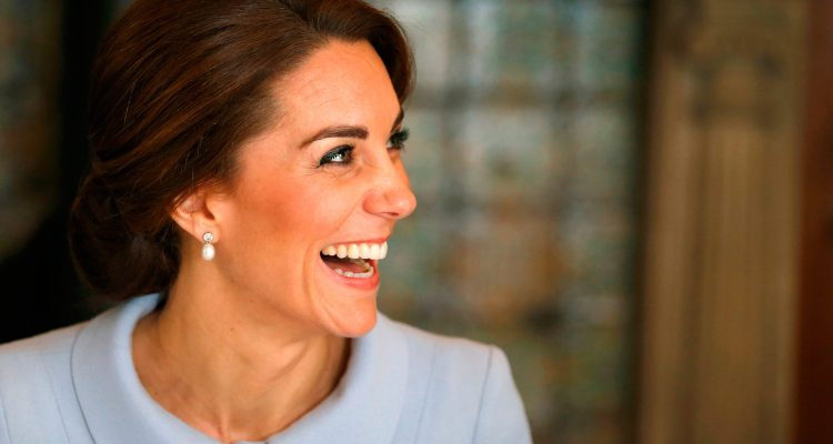 THE HAGUE, NETHERLANDS - OCTOBER 11:  Catherine, Duchess of Cambridge attends the British Ambassador's Residence in The Hague on October 11, 2016 in The Hague, Netherlands.  (Photo by Danny Lawson-Pool/Getty Images)