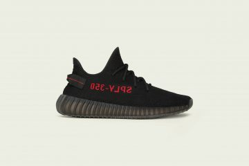 adidas - KANYE WEST - YEEZY BOOST 350 V2 Black-Red_Adult