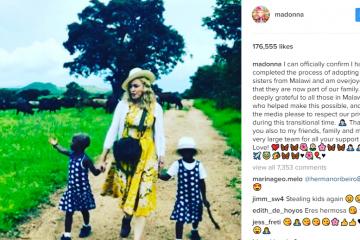 madonna adopting