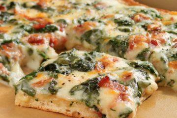 Πίτσα με Σπανάκι