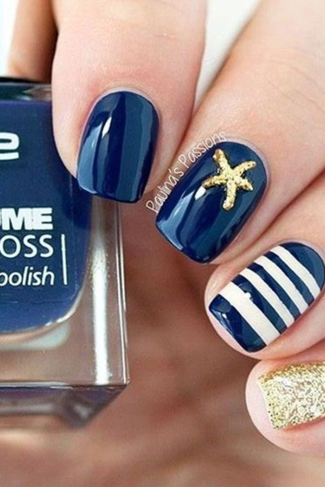 nails-stripes-starfish