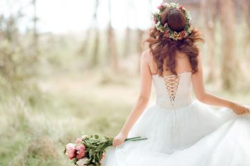 Beautiful Bride Wide Desktop Background