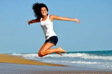 Girl Health Fit Healthy Jump Woman Fitness