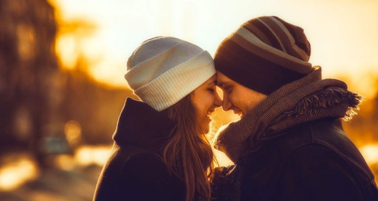 Sunset-time-happy-couple-love-image