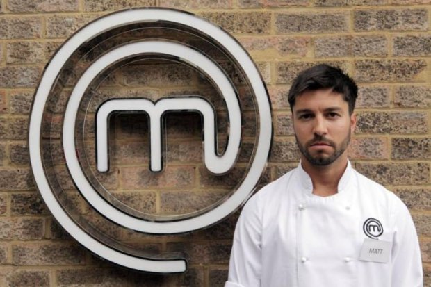 matt campbell masterchef london marathon