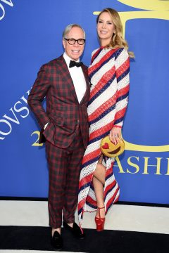 NEW YORK, NY - JUNE 04:  Tommy Hilfiger and Dee Ocleppo attend the 2018 CFDA Fashion Awards at Brooklyn Museum on June 4, 2018 in New York City.  (Photo by Dimitrios Kambouris/Getty Images)