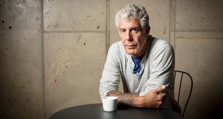 NEW YORK, NY - OCTOBER 31: Anthony Bourdain films Parts Unknown Queens in New York, New York on November 11, 2016. (photo by David Scott Holloway / ™ & © 2016 Cable News Network. A Time Warner Company. All Rights Reserved.)