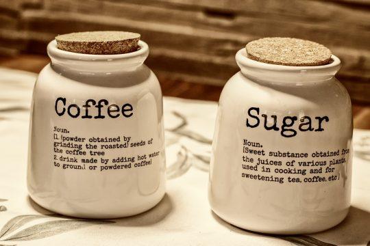 καφές και ζάχαρη