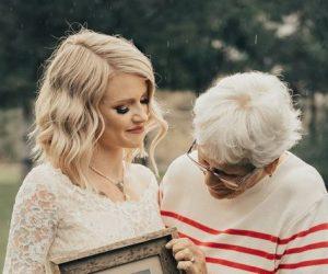 νυφικό γιαγιά