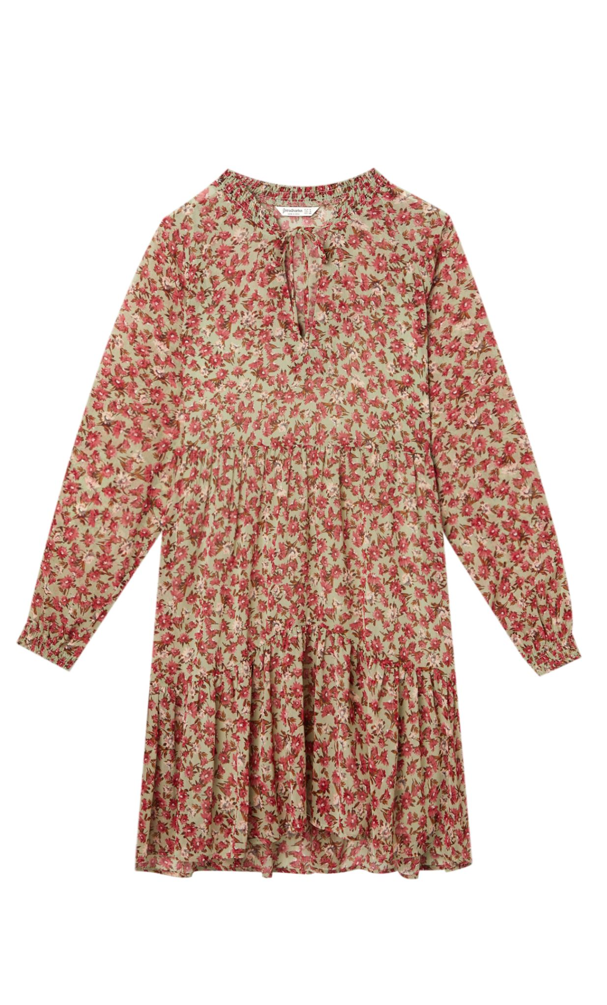 φλοράλ φορέματα stradivarius