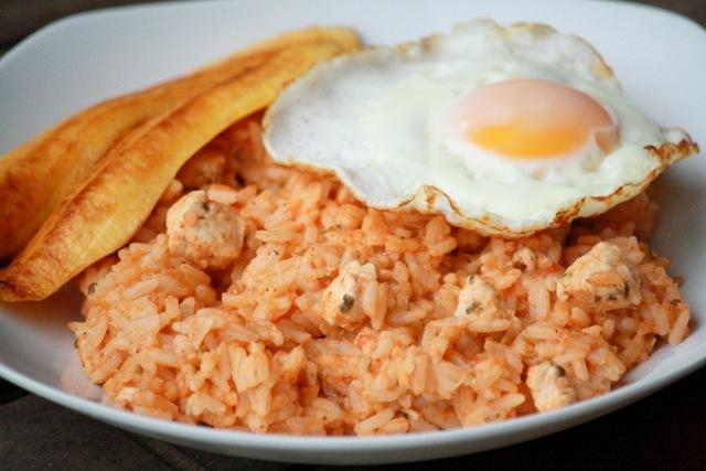 ρύζι με κοτόπουλο