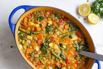φακές με λαχανικά