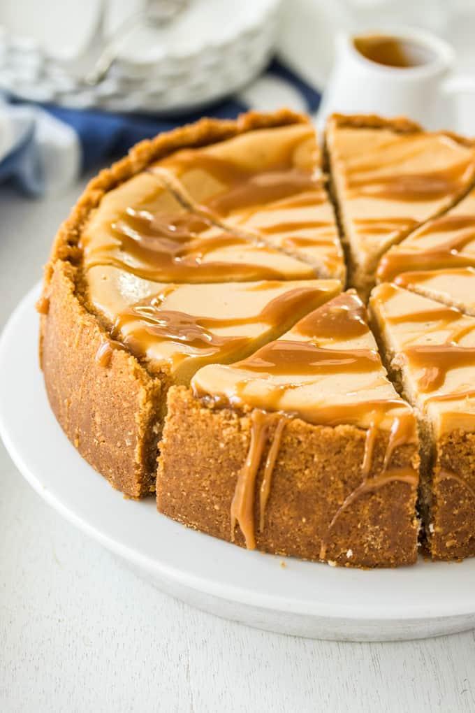 cheesecake καραμέλα