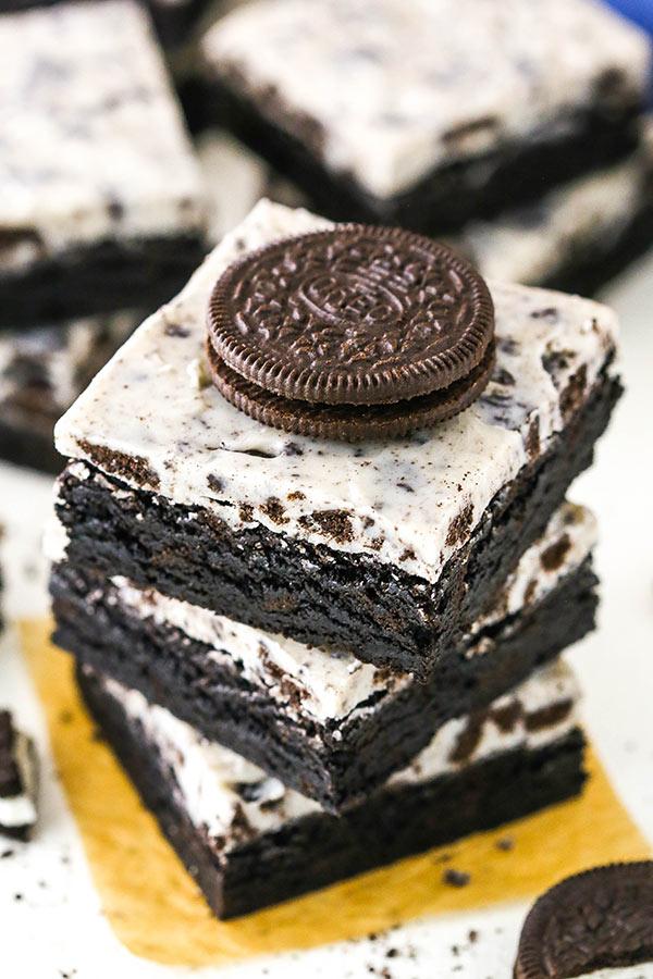 Brownies με μπισκότο OREO